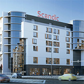 Elevation's reconstruction of the Scandic Hotel